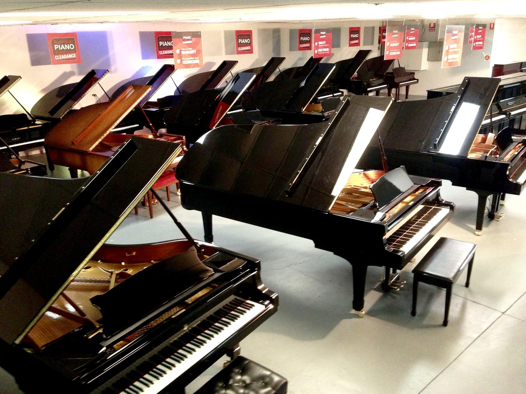 Australian Piano Warehouse - MILTON