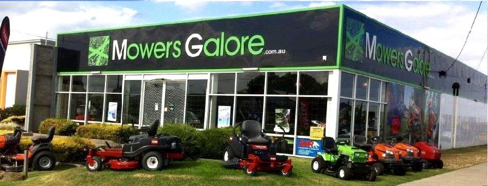 Mowers Galore - GROVEDALE